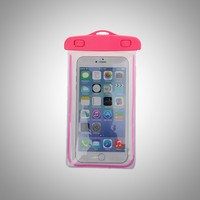 Hot sale plastic EVA PVC waterproof bag for iphone