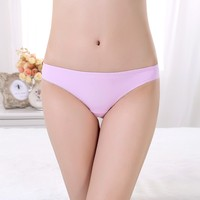 Hot Sexy Seamless Panty Girl Leopard Print Women Lady Seamless Underwear pretty girl cartoon panties