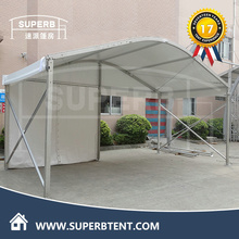 Arcum shape Roof outdoor warehouse tent/wind and snow resistance