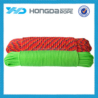 8mm PP diamond braided rope 16 strand braided pp multifilament polypropylene rope