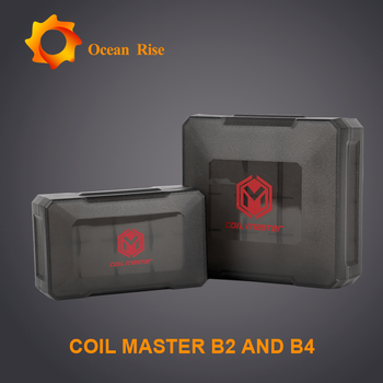 100% Authentic Vape new products Coil Master B2 and B4 protective boxes for 18650