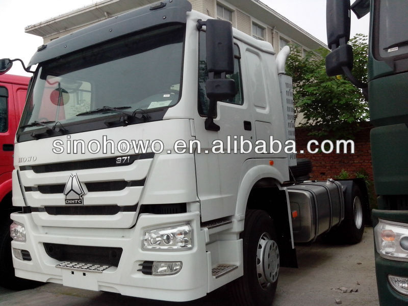 hot HOWO 4*2 tractor truck Venezuela used for sale
