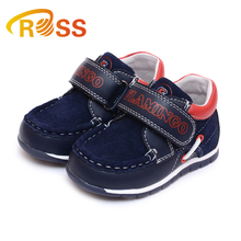 Special rope design sports style autumn velcro casual shoes