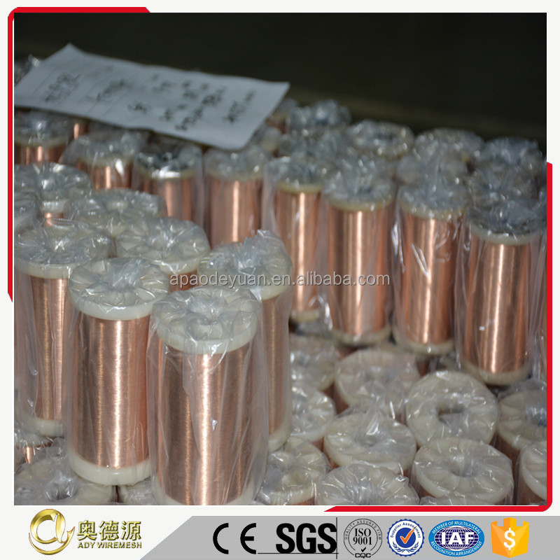 ISO certificate standard quality enameled copper winding wire prices