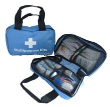 Disposable medical car first aid kit for surgical supply