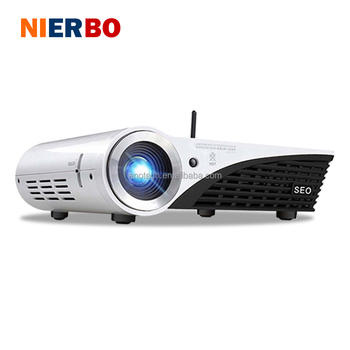 Z6 2017 Windows 10 1080p Full HD DLP LED Video Home Theater Cinema Beamer 3D Projector