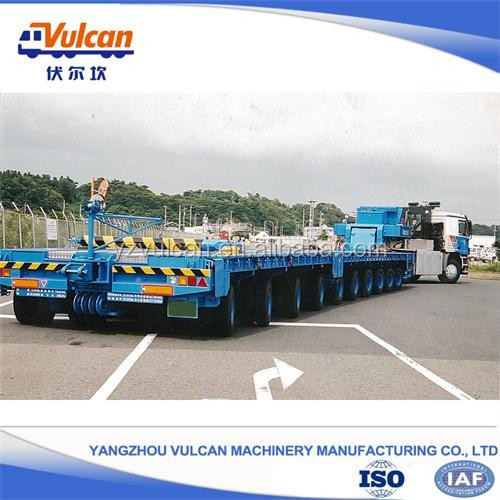 Especially Export Japan Multi-axles Hydraulic Modular Trailer (Customized)