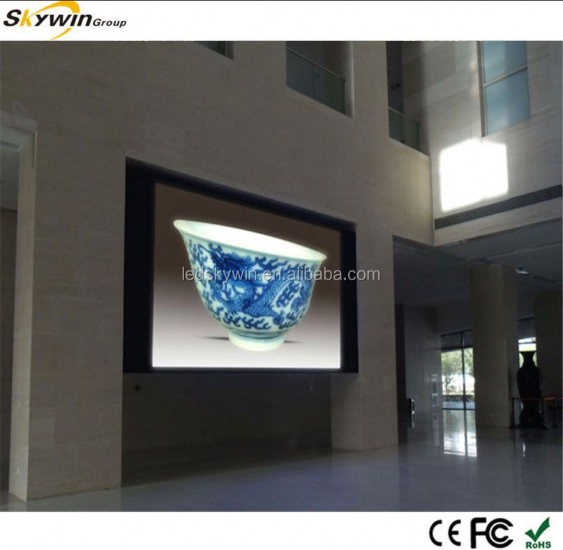 stage P4 SMD led tv wall unit