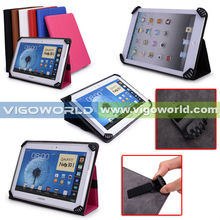 Universal Textured Slim Fit Folio Stand Leather Case Cover Android Tablet 7 Inch