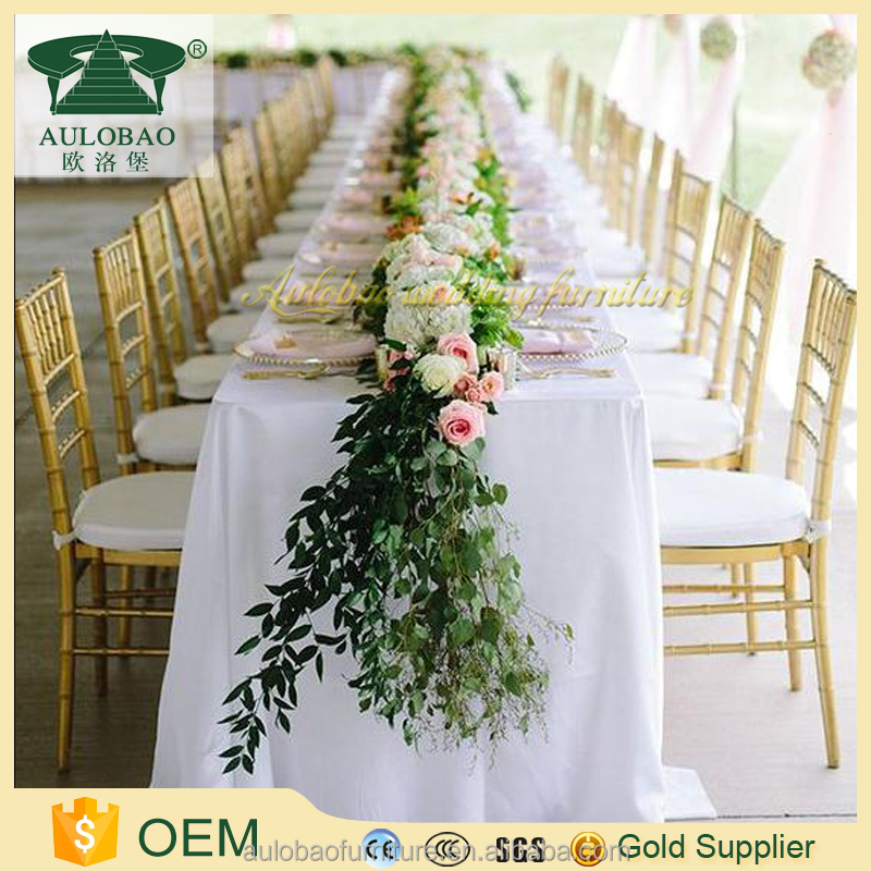 Foshan wholesale wedding banquet used chiavari chair for sale