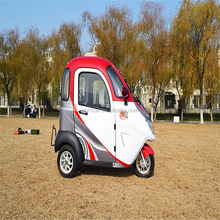 Closed Body Type and 48V Voltage battery operated electric tricycle