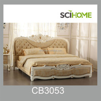 luxury bedroom sets bedding set leather bed with crystals