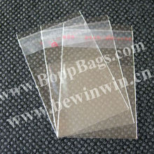 3x5cm 7000 pieces /pack Clear Bopp Bags Mini Plastic Bags with self adhesive seal for packing beads