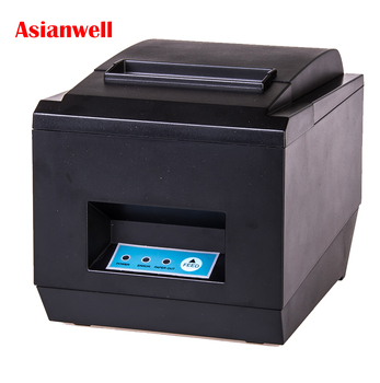 High Quality 80mm auto cutter receipt printer USB/COM/LAN 3inch fast speed POS thermal printer