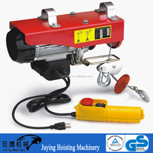 Juying Electric Hoist with Monorail Trolley and Wireless Remote Control