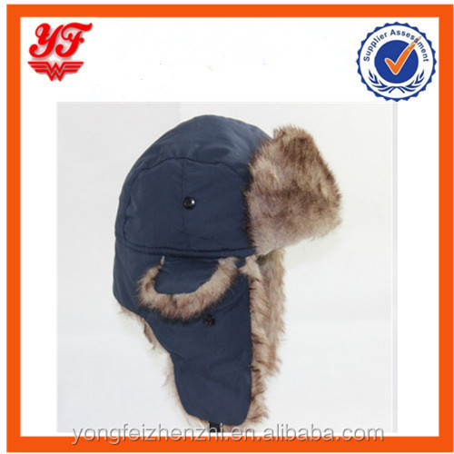 Winter earflap military leifeng russhian hat