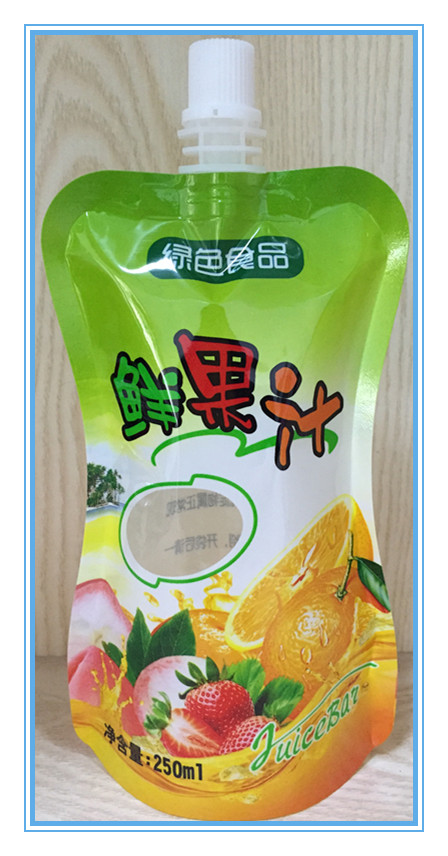 Juice Use and Plastic Material juice/water packing bag