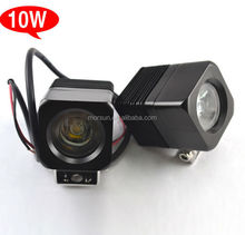 "10w led warning light off road 2"" led working lamp Diecast Aluminum Housing"
