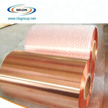Li Ion Battery Anode Current Collector, Electrolytic Rolled Copper Foil