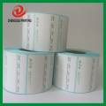 preprinted or blank thermal rolls