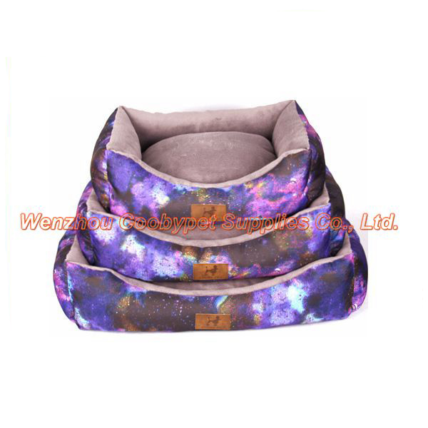 star sky pattern print pet beds sofa import pet animal products from china