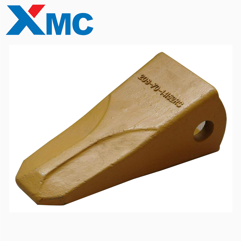 Construction Machinery Excavator Buckets Teeth and adapter For Wheel Loader