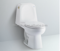 FH407 Siphonic Close-coupled Toilet Sanitary Ware WC Bathroom Design