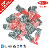 cherry cola flavoured sour gummy candy