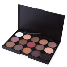 free shipping Professional 15 color Eyeshadow make up palettes