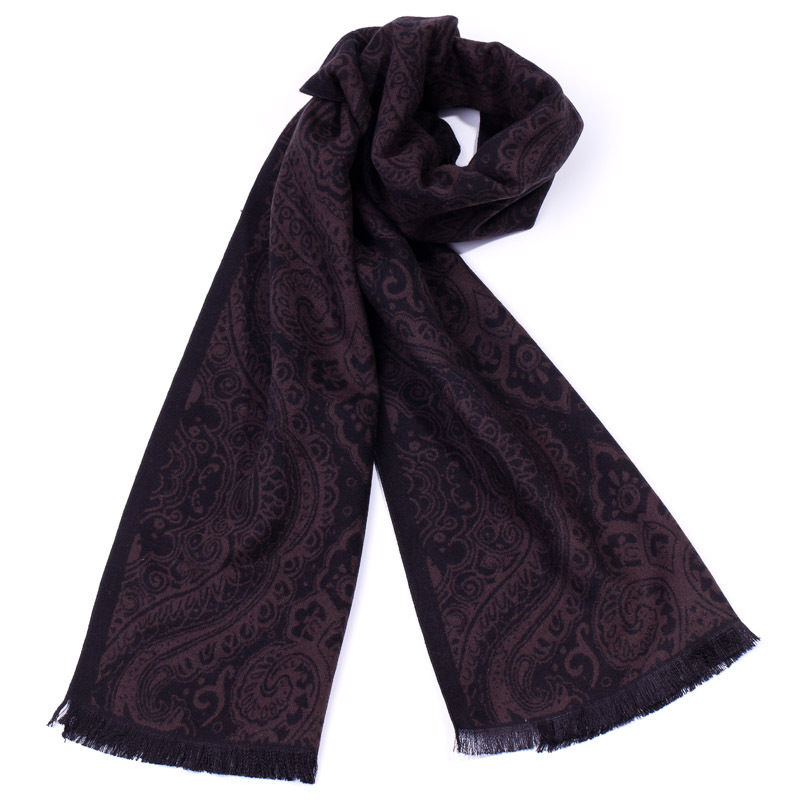 Autumn efancy male scarf fashion decorative pattern design tassel long scarf fashion classic muffler scarf