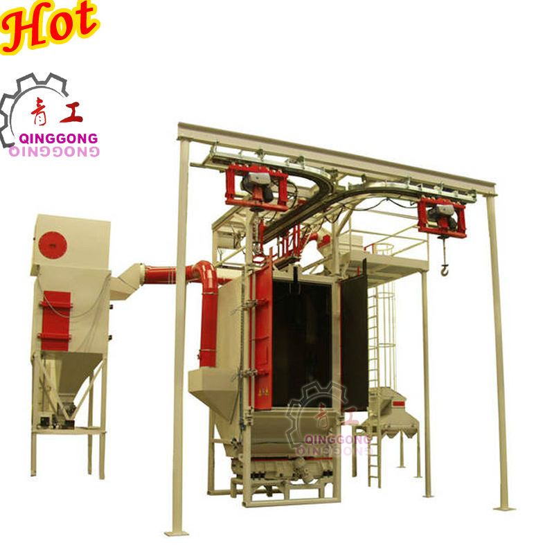 Motor Tricycle Frame Shot Blast Cleaning Machine