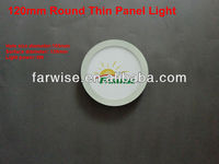 120mm Small Thin LED Round Panel Lamp Casing / Case for 5W LED Panel Lights