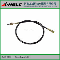 Motorcycle spare parts engine cable for Titan CG125