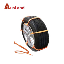 Tire Chain ZipClipGo Emergency Traction Aid Portable Anti-skid Traction Mud Snow Ice Cleats for Bad Weather Tyre Chains Belting