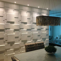 The newest 3d design Suede wallpaper for interior home wall