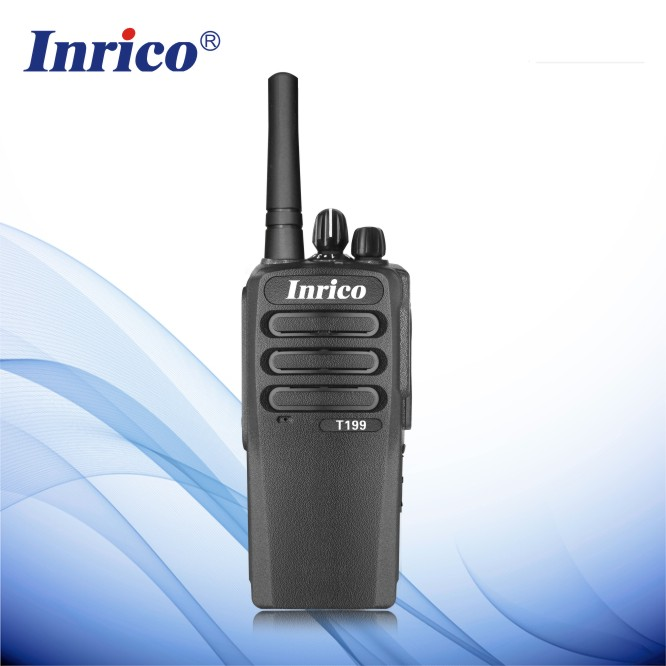 Inrico T198 Intelligent global talking WCDMA 3G Network GPS Digital walkie talkie