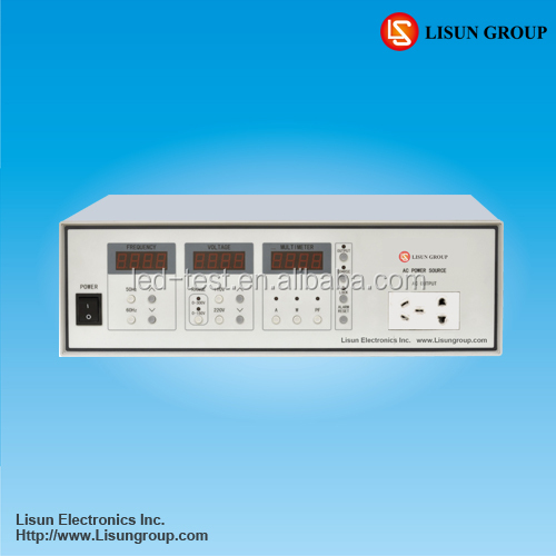 LSP-500VAR Adjustable AC Power Source Controlled and tested by 16 bits MCU, which has high automation