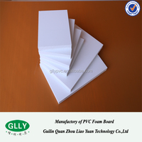 pvc celuka foam board 20mm pvc rigid foam board fireproof pvc foam board