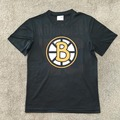 customized any logo name Print couple Bruins fans t-shirt