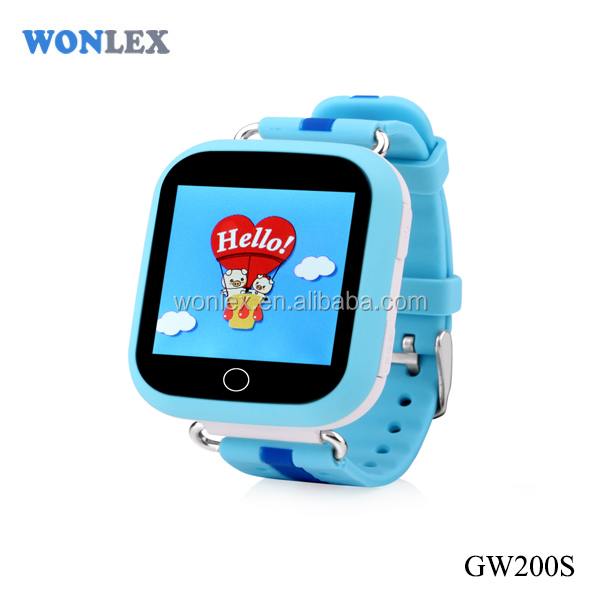 GPS watch tracker wifi bluetooth for kids /Watch GW200S Wonlex gps smart watch tracker