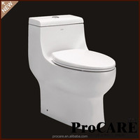 Foshan high quality toilet wc with toilet seat