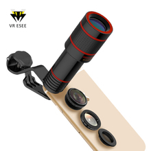 Hot Universal Mobile Phone Telescope 12X Telephoto Zoom Lens for Iphone