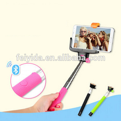 2016 Shenzhen factory high quality camouflaged selfie stick zoom for huawei ascend p6
