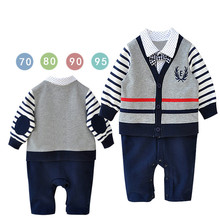 HT-JJB fashion 2017 hot-selling kid clothes high quality baby suit boys low price boy suit for wedding children jumpsuit