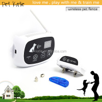 Wireless Pet Fence Training System Waterproof Electric Collar Dog Trainer