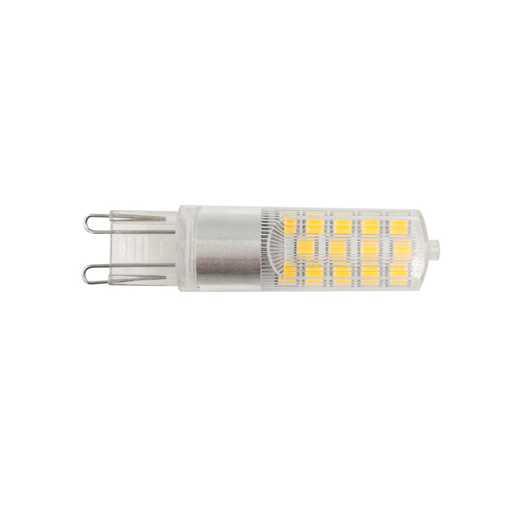 Ce Rohs High Lumen  Glass Halogen the lamp Cob G9 Led Bulb Lamp 2w 3w G9 220v Led Light Bulb