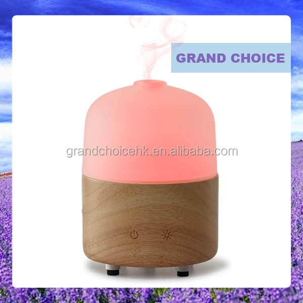 Electric fragrance diffuser aromatherapy glass night lamp