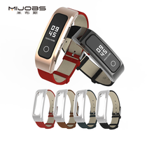 Mijobs High Quality <strong>watch</strong> strap For Huawei <strong>watch</strong> band 4 running <strong>smart</strong> <strong>watch</strong> band genuine leather strap