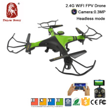 2.4G skyline rc fpv quadcopter wifi drone mobile with high set function