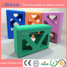 Wholesale eco -friendly multi-color hollow yoga block/yoga block and brick